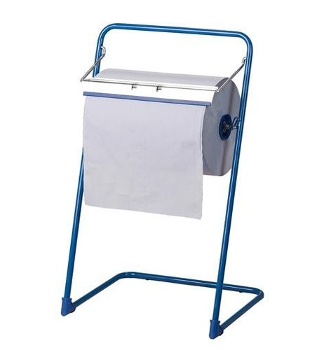 Floor stand roll dispenser